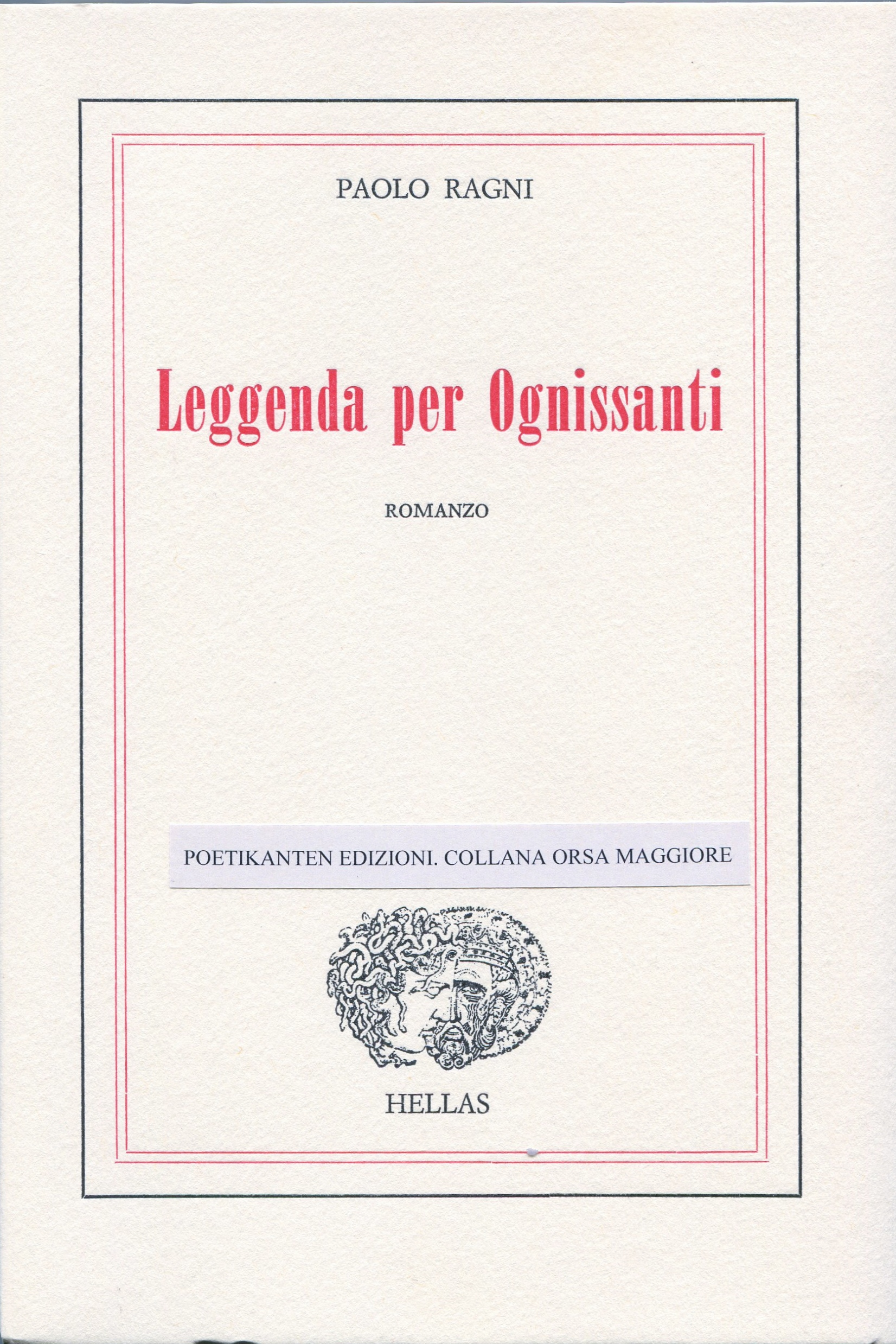 Copertina Nuova Leggenda per Ognissanti (2)