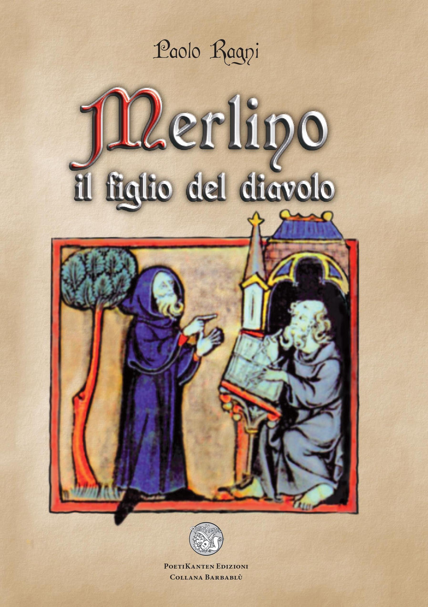 Merlino il figlio del diavolo copertina Prima)